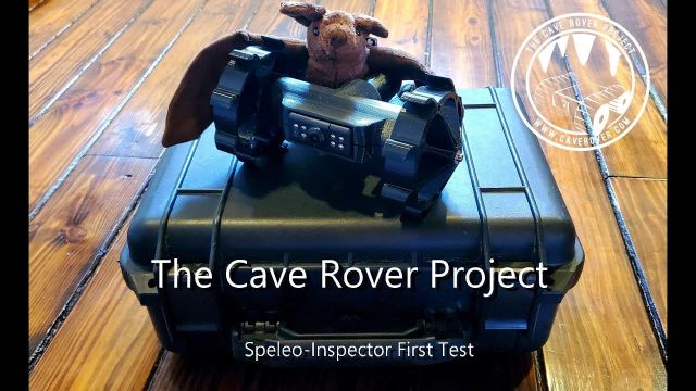 Speleo-Inspector First Test Drive - The Cave Rover Project.